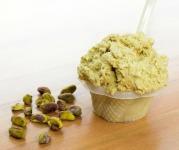 Saveurs de gelato pistaches du Quai des glaces