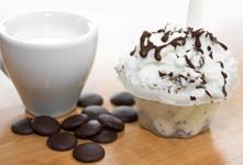 Saveurs de gelato stracciatella du Quai des glaces