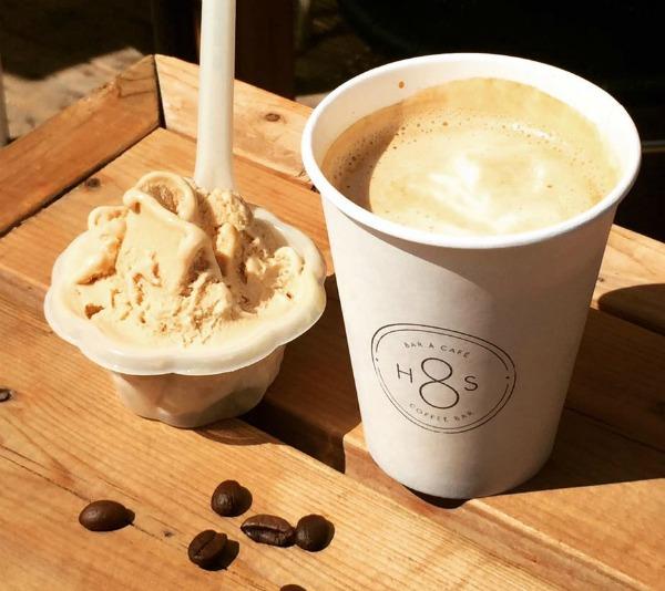 Saveur de gelato au café H8S - Quai des glaces