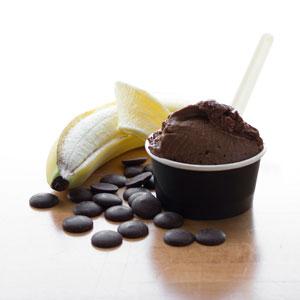 Choco-bananes (glace végane)
