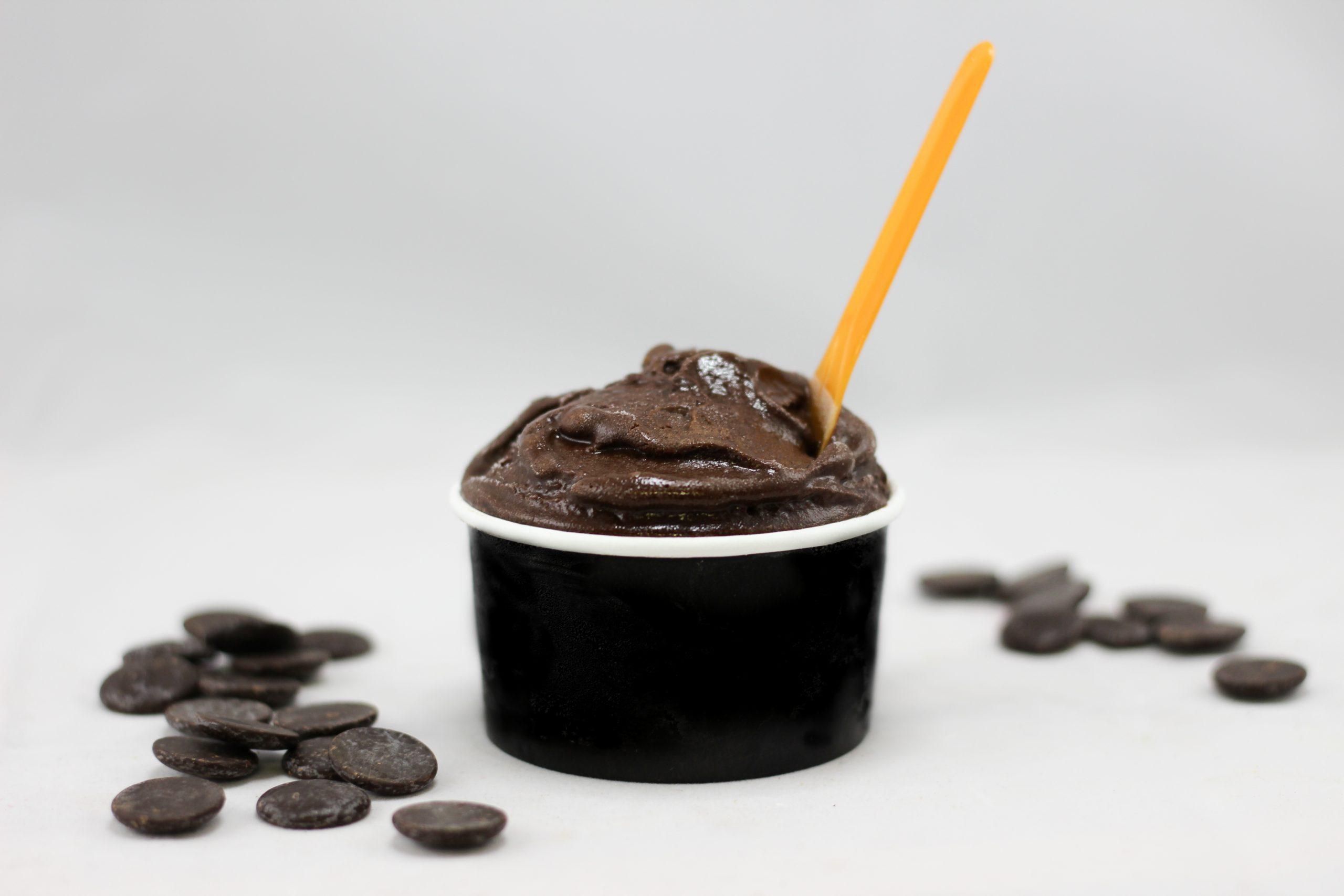 Sorbet chocolat noir 70 %
