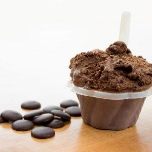 Gelato chocolat - Le Quai des Glaces