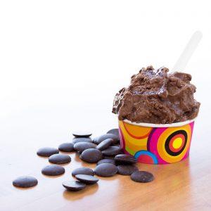 Sorbet chocolat noir 70 % - Le Quai des Glaces